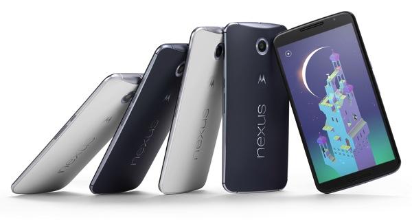 Nexus6、Nexus9をNexus5,Nexus7とスペック比較
