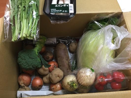 らでぃっしゅぼーやできた野菜を使った今週の献立【2月15日〜21日】