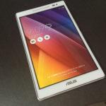 ZenPad 8.0レビュー!ブルーライトカットが地味に嬉しい