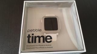 Pebble Timeを開封・初期設定!iphoneで日本語化!