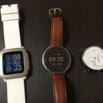 Huawei FitとPebble Time比較