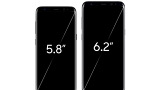 Galaxy S8とGalaxy S8+、Galaxy S7 edge、iphone7をスペック比較